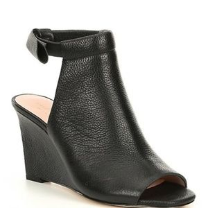 KATE SPADE WEDGE OPEN TOE BOOTIE, SIZE 6